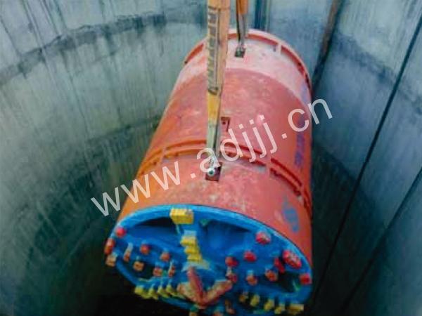 印度de里NPD1200顶管施工xian场